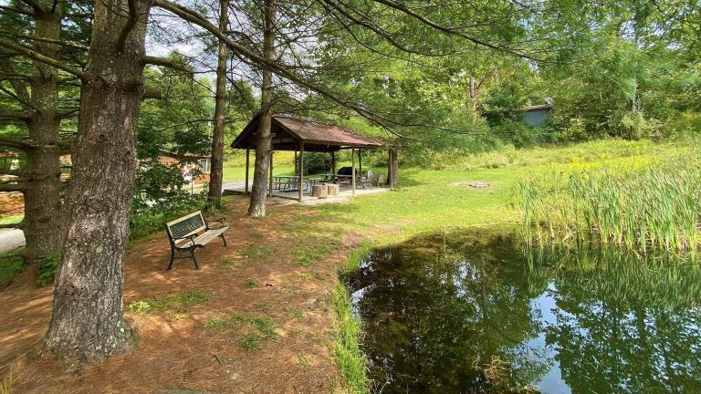 Bear Run Cabin Property Features